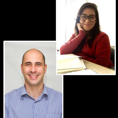 Paulo David Tostes e Bianca Kremer